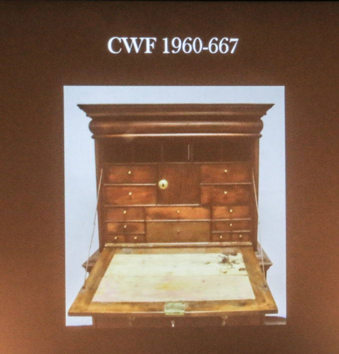 The recently re-discovered scriptor entered the collection of CWF in 1960.