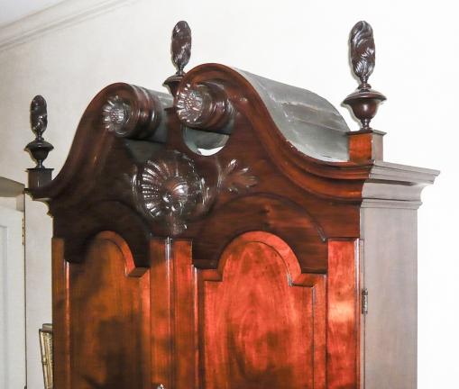 Desk and bookcase Philadelphia, c. 1745