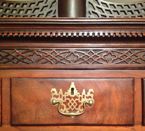 High chest detail